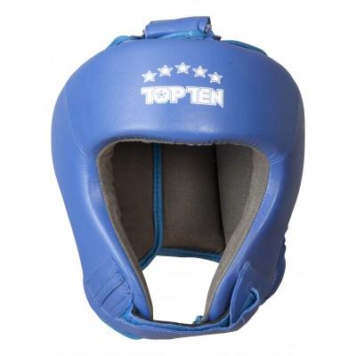 TOP TEN Kopfschutz Leder (mit AIBA Label)