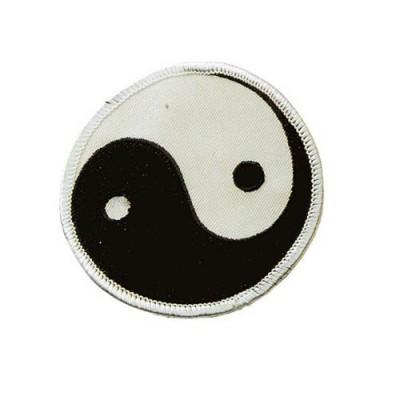 Stoffabzeichen Ying Yang