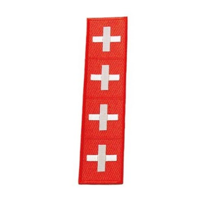Achselbänder Schweizerkreuze/Suisse