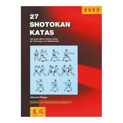 Buch 27 Shotokan Kata (von Albrecht Pflüger)