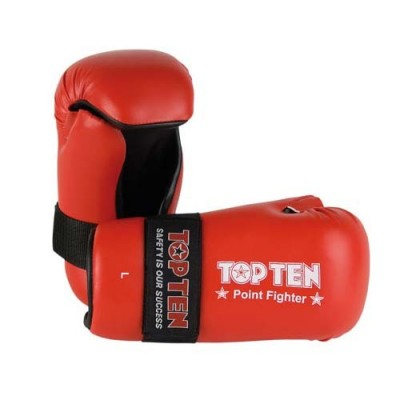 TOP TEN Point Fighter Handschuh (rot/blau/weiss)