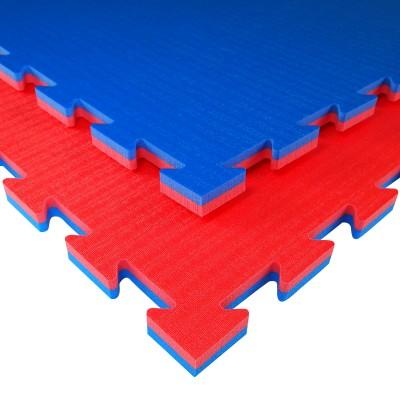 TATAMIX Karate Steckmatte (rot/blau)