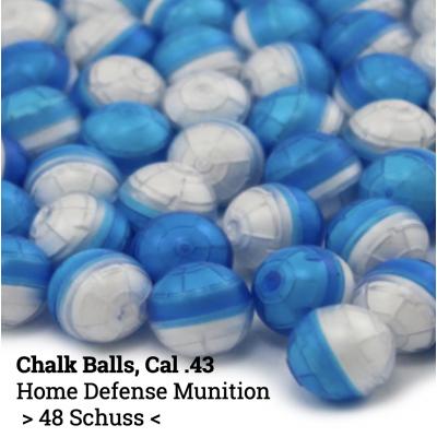 UMAREX - Cal .43 Chalk Balls (48 Stück)