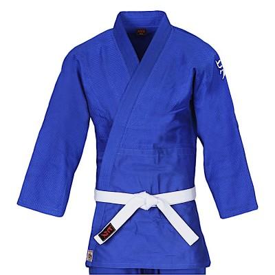HIKU Shiai - Judo Wettkampf-Jacke (blau)