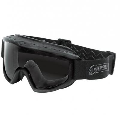 VOODOO Militärische Schutzbrille (schwarz)