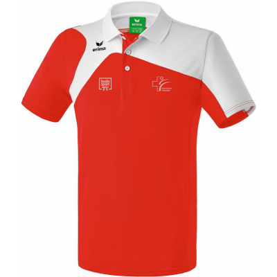 SKF Edition Polo-Shirt (ERIMA - rot/weiss)