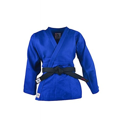 HIKU Shiai SWISS EDITION - Judo Wettkampf-Jacke (blau)