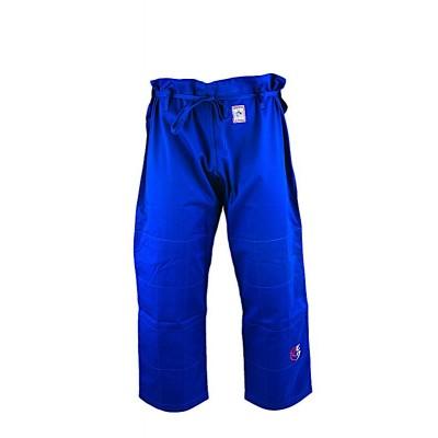 HIKU Shiai SWISS EDITION - Judo Wettkampf-Hose (blau)