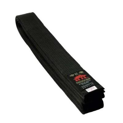 SHUREIDO Gürtel Seiden-Satin (schwarz)