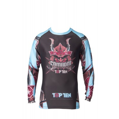 TOP TEN Samurai Rashguard (langarm)