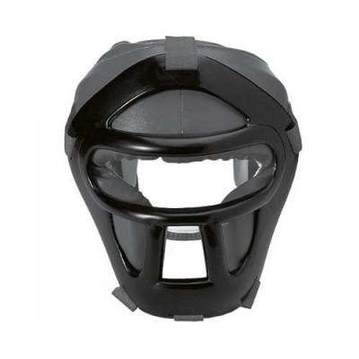 HIKU Kopfschutz mit Gitter (schwarz)