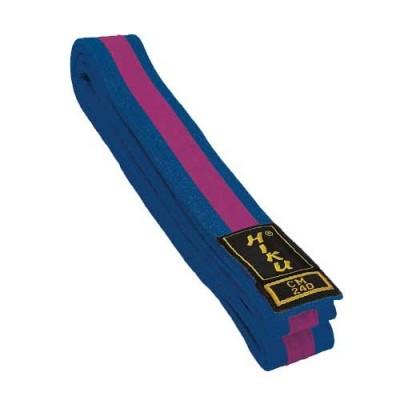 HIKU Budo-Gürtel (blau-violett)
