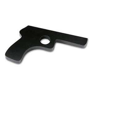 Holzpistole (schwarz)