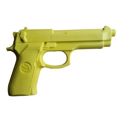 Replika Pistole Hartgummi (gelb)